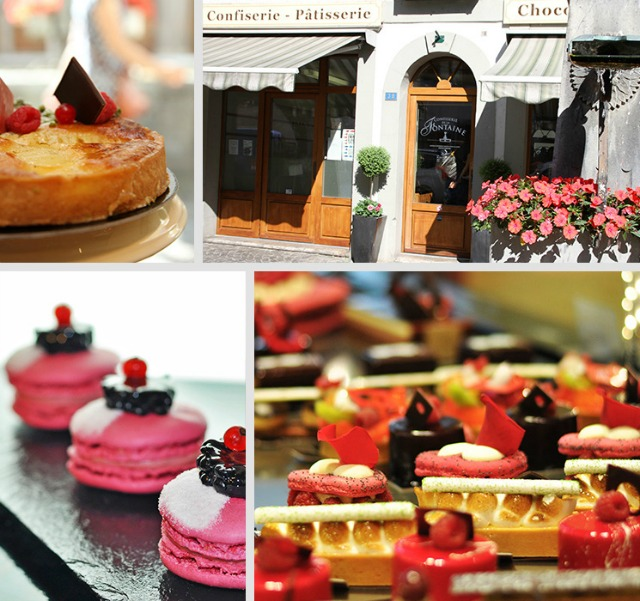 pastry and dessert