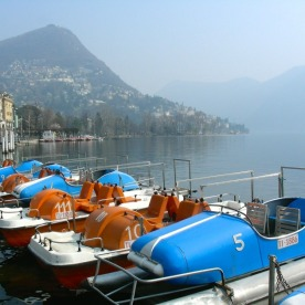 Along the boardwalk in Lugano