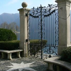 Doors onto the Lake at the botanical garden