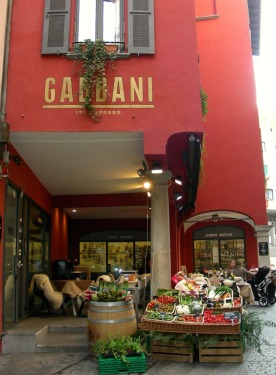 Gabbani grocers in Lugano