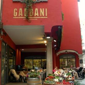 Gabbani grocers in Lugano