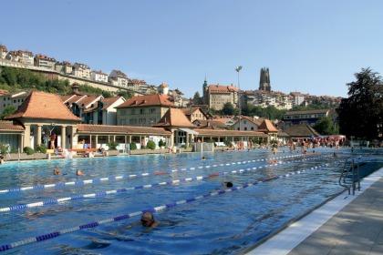 Swiss swimming pools