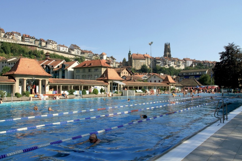 Swiss swimming pools