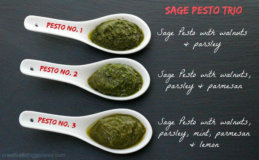 sage pesto recipes
