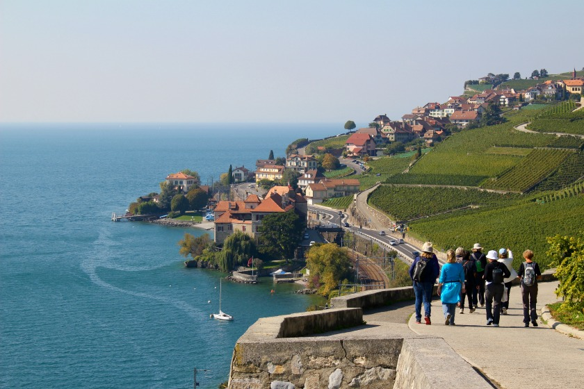 hiking the Lavaux