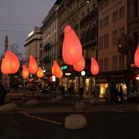 Geneva Lux Festival, Place Longemalle