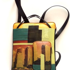 """New York Canicule"" (New York heatwave) from the 2016 collection entitled ""La ville est dans le sac"" (The city's in the bag)."