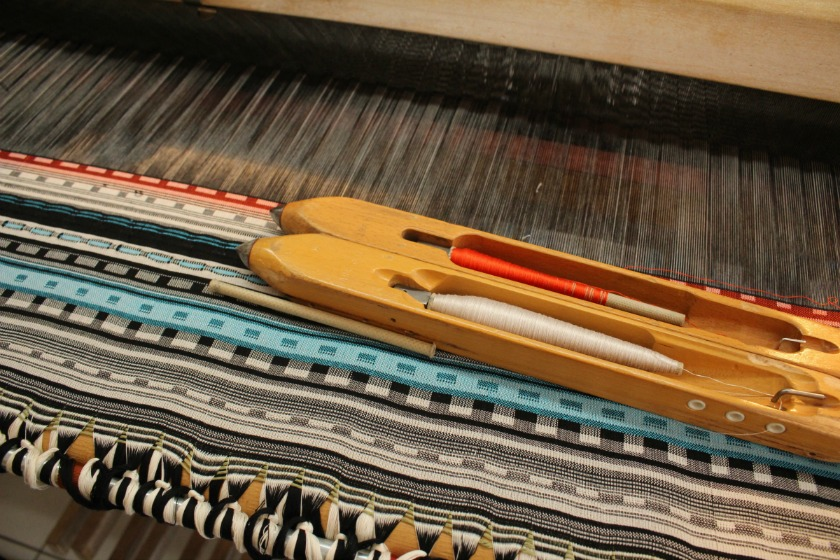 loom and weaving