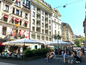 Geneva's outdoor parks and green spaces