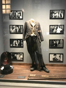 The original costume of Chaplin's iconic Little Tramp.
