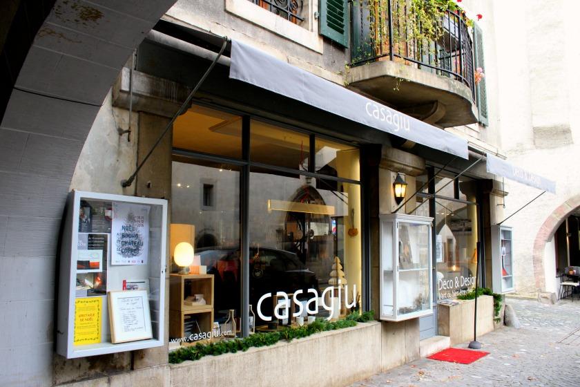 Casagiu shop Coppet