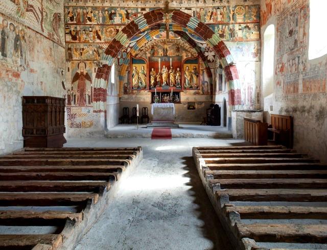 Kirche Sogn Gieri, Rhäzüns GR