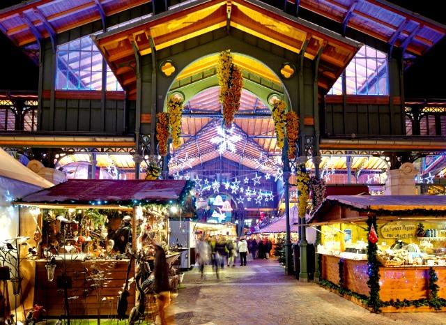 Montreux xmas market