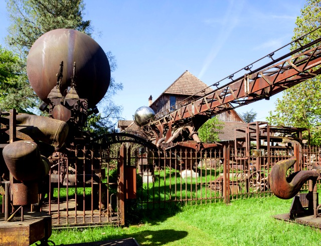 Skulpturenpark Bernhard Luginbühl, Mötschwil BE