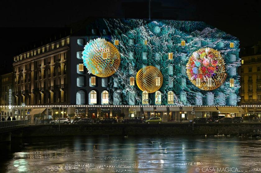 Geneva xmas lights