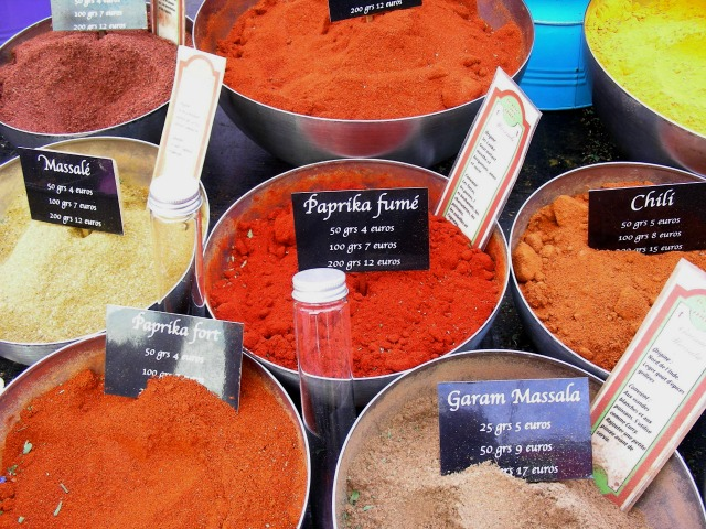 Divine market Indian spices