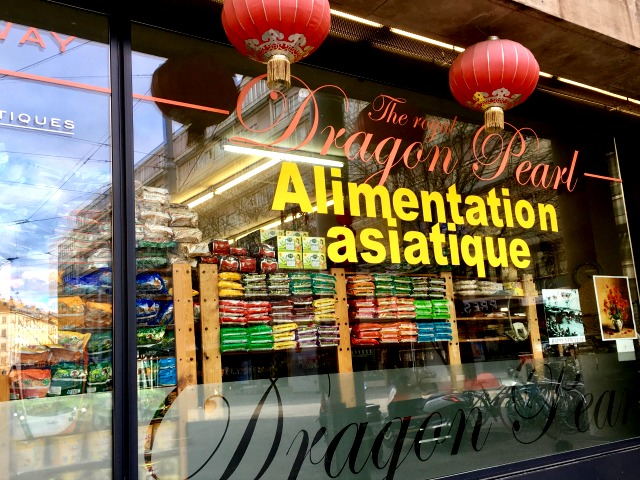 Asian grocery store Geneva
