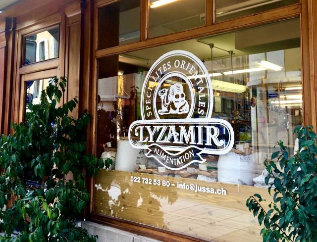 Lyzamir spice shop Geneva