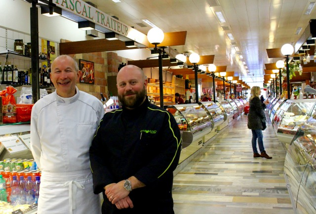 Halle de Rive food market