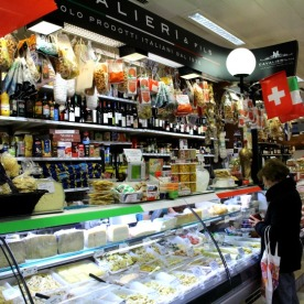Italian specialities are on offer at Cavalieri & Fils.