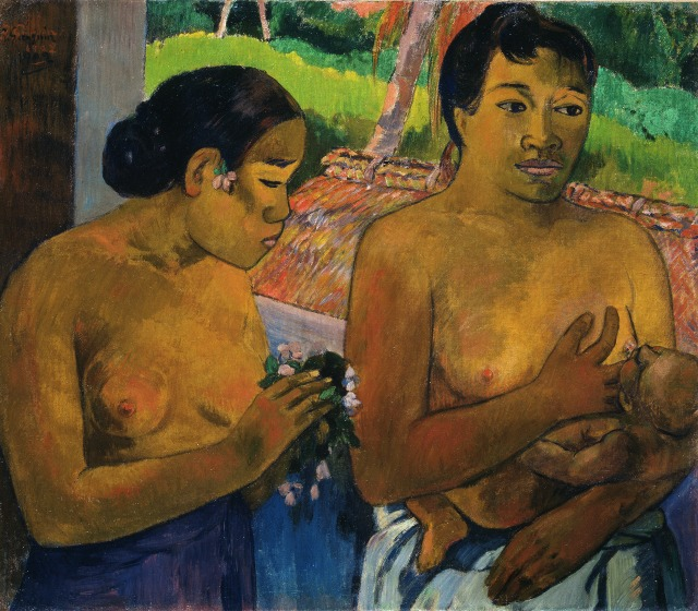BUHRLE_Gauguin-painting