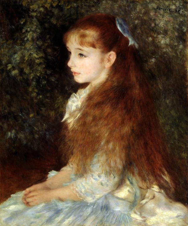 Irene-Renoir-painting