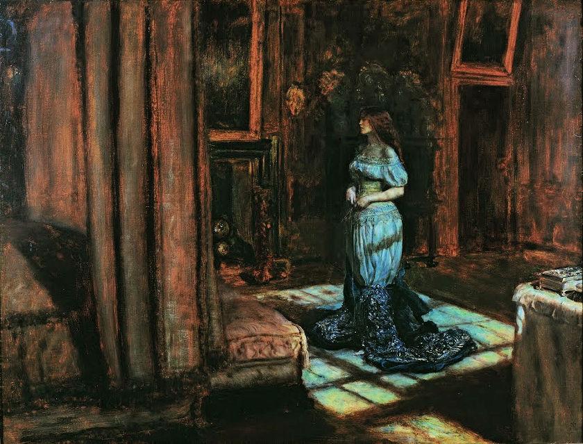 Hermitage exhibit Millais